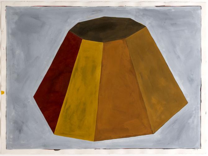 Sol LeWitt (American, 1928-2007), Flat-Top Pyramid, 1986